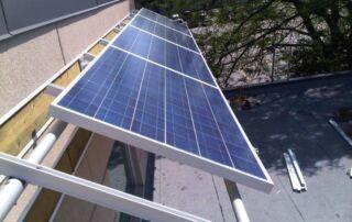 Kinetic roof rack - awning