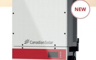 Canadian Solar 480V 3-phase inverters