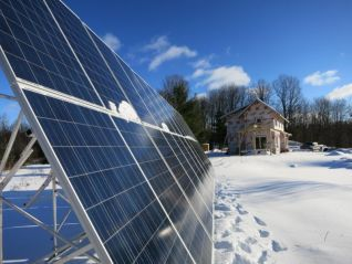 Off-grid household with 6kW solar PV